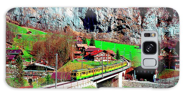 Lauterbrunnen Electric Train Galaxy Case