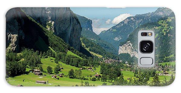 Lauterbrunnen Mountain Valley - Swiss Alps - Switzerland Galaxy Case by Gary Whitton