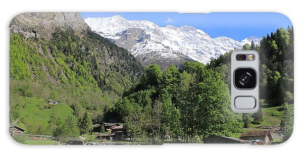 Lauterbrunnen Valley Switzerland Galaxy Case