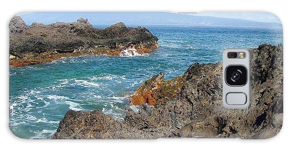 Lava Coastline - West Maui Galaxy Case