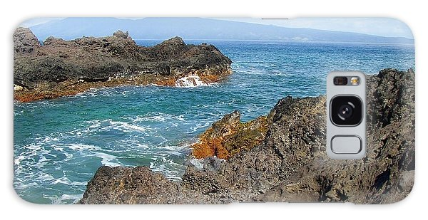 Lava Coastline - West Maui Galaxy Case by Glenn McCarthy Art and Photography