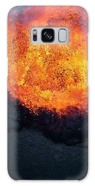 Pele Galaxy Case - Lava Explosion by Christopher Johnson