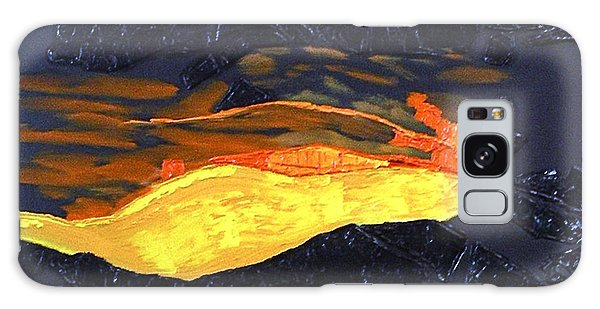 Lava Flow Galaxy Case