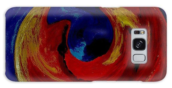 Lava Ocean Galaxy Case