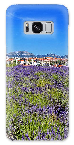 Lavendar Of Provence Galaxy Case by Corinne Rhode