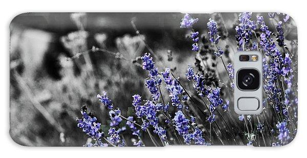 Lavender B And W Galaxy Case
