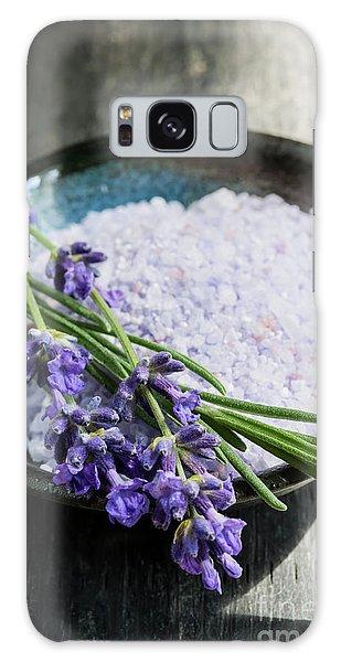 Bath Galaxy Case - Lavender Bath Salts In Dish by Elena Elisseeva