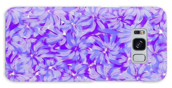 Lavender Blue 1 Galaxy Case by Linda Velasquez