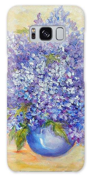 Lavender Galaxy Case