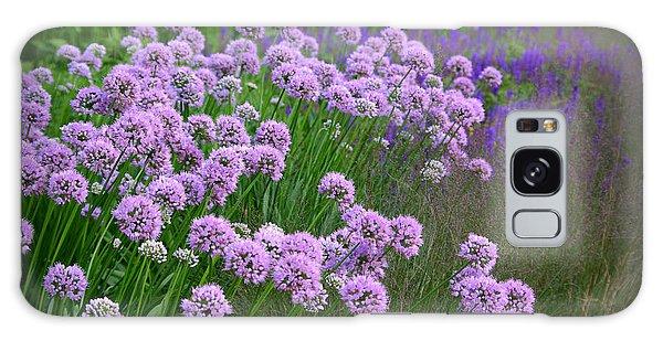 Lavender Field Galaxy Case