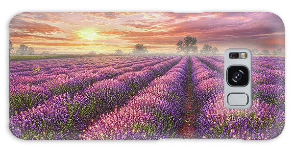 Bush Galaxy Case - Lavender Field by Phil Jaeger