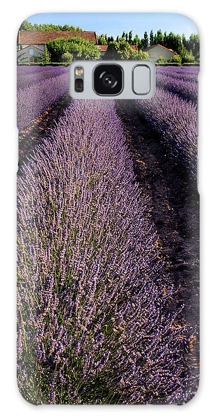 Lavender Field Provence France Galaxy Case