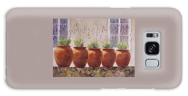 Lavender Garden Galaxy Case by Jill Musser
