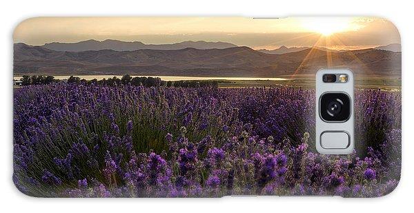 West Galaxy Case - Lavender Glow by Chad Dutson