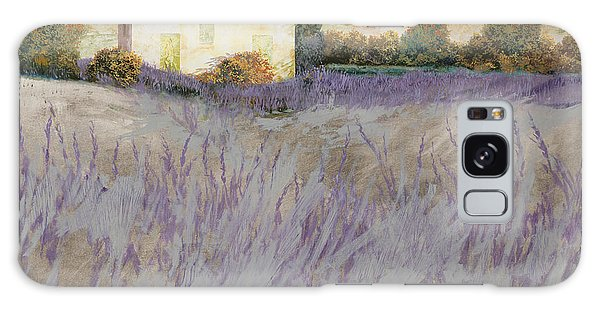 Rural Scenes Galaxy S8 Case - Lavender by Guido Borelli