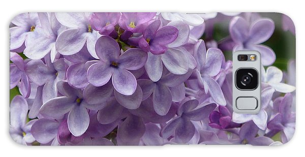 Lavender Lilacs Galaxy Case