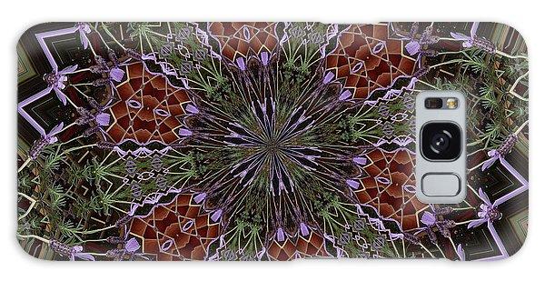 Lavender Mandala 1 Galaxy Case