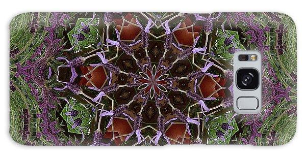 Lavender Mandala 2 Galaxy Case