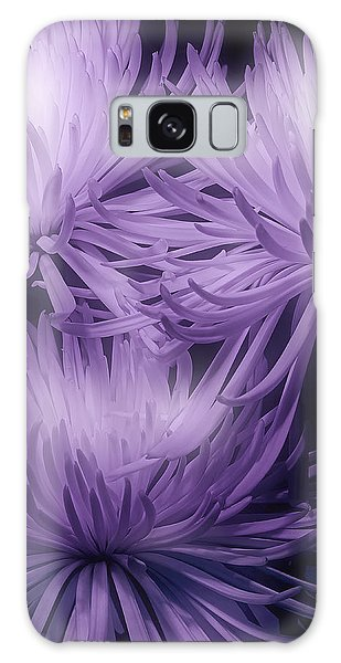Lavender Mums Galaxy Case