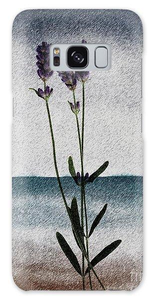 Lavender Ocean Breath Galaxy Case
