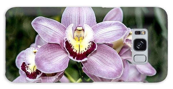 Lavender Orchid Galaxy Case