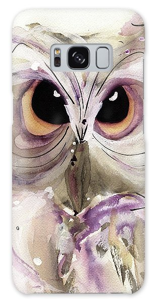 Lavender Owl Galaxy Case