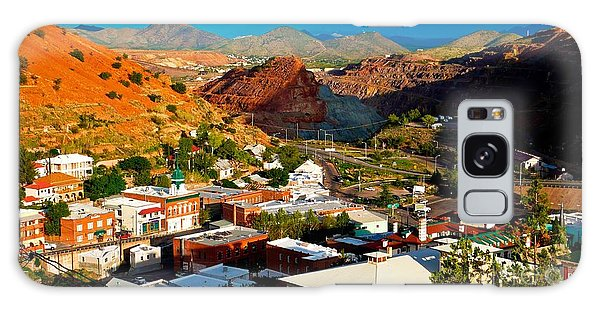 Lavender Pit In Historic Bisbee Arizona  Galaxy Case