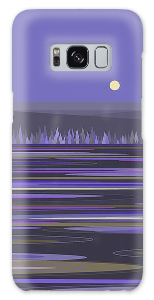 Lavender Reflections Galaxy Case