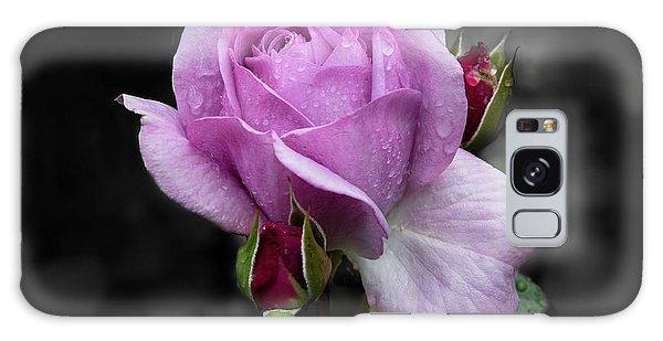 Lavender Rose Galaxy Case