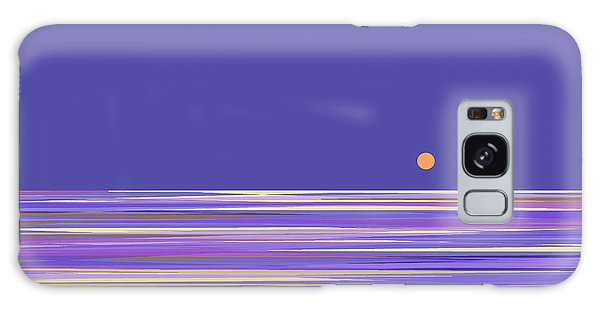 Lavender Sea Galaxy Case by Val Arie