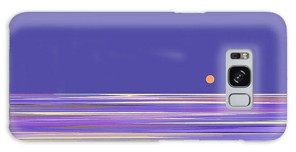 Lavender Sea Galaxy Case
