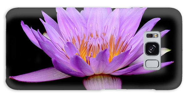 Lavender Tropical Day Lily Galaxy Case