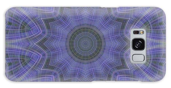 Lavender Twirl Kaleido Galaxy Case
