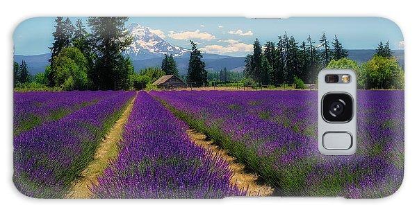 Lavender Valley Farm Galaxy Case
