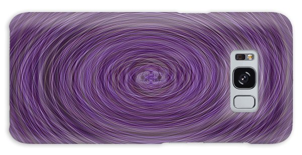 Lavender Vortex Galaxy Case
