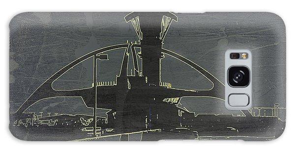 Airport Galaxy Case - Lax Grey by Naxart Studio