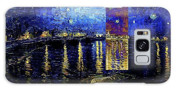 Layered 15 Van Gogh Galaxy Case
