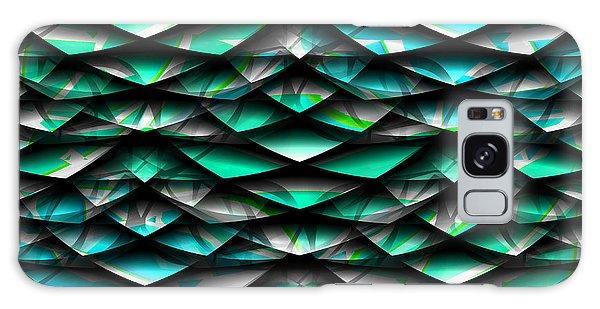 Layers Abstract Galaxy Case by Barbara Moignard