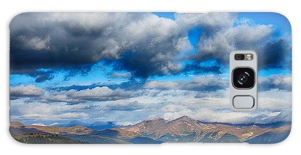 Layers Of Clouds On Mount Evans Galaxy Case