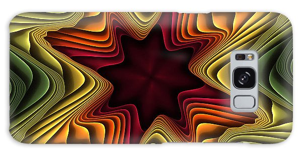 Layers Of Color Galaxy Case by Deborah Benoit