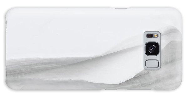 Layers Of Snow Galaxy Case