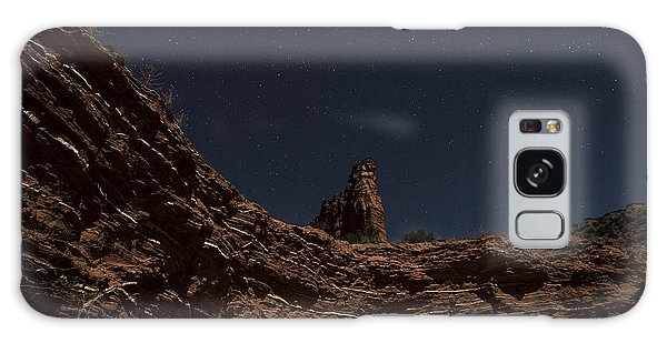 Galaxy Case featuring the photograph Layers Of Time by Melany Sarafis