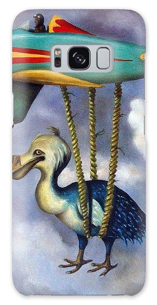 Lazy Bird Galaxy Case by Leah Saulnier The Painting Maniac