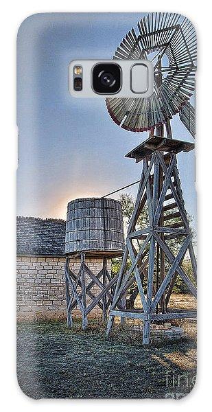 Lbj Homestead Windmill Galaxy Case