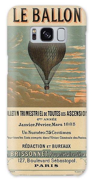 Le Balloon Journal Galaxy Case