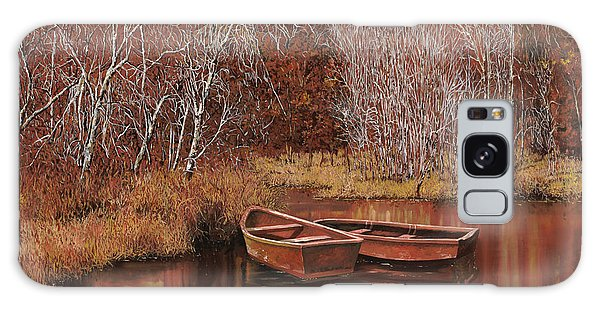 Reflections Galaxy Case - Le Barche Sullo Stagno by Guido Borelli