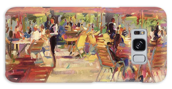 Restaurants Galaxy Case - Le Cafe Du Jardin  by Peter Graham