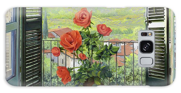 Landscape Galaxy Case - Le Persiane Sulla Valle by Guido Borelli