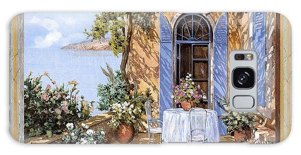 Lake Galaxy Case - Le Porte Blu by Guido Borelli