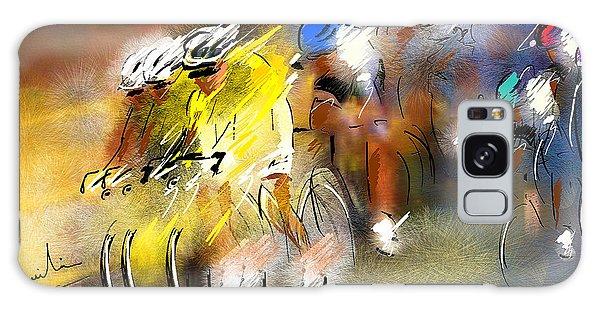 Le Tour De France 05 Galaxy Case by Miki De Goodaboom